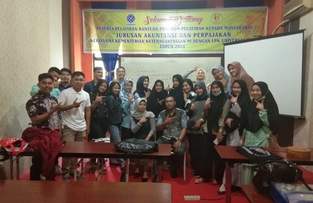 Galleri Pelatihan 3, Brevet Pajak Universal Skill di Pekanbaru
